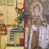 Мотиви в християнските изображения от преди Христа