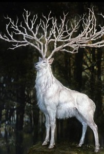 сребърният елен