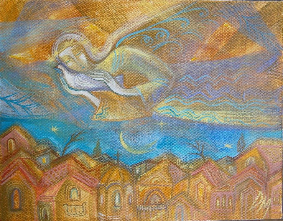 Фигура с птици 2