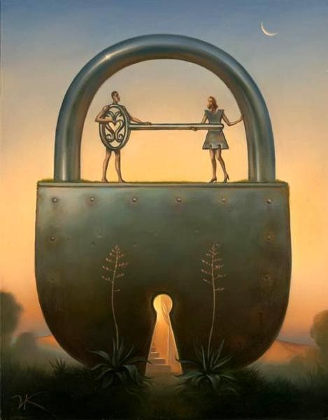 key-of-love-vladimir-kush