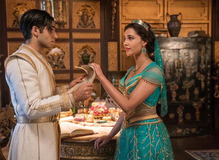 """Аладин и Жасмин - силно феминистично влияние във филма на Дисни - """"Аладин и Вълшебната лампа"""" (2019 г.)"""