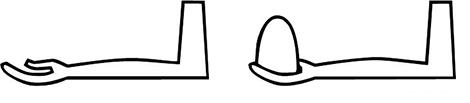 Йероглиф за ръка, давам